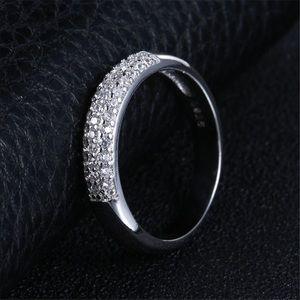 Jewelry - luxury full aaa zircon rings for women 925